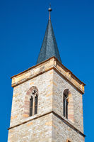 Bell tower of the Saint Giles church in Erfurt,Thuringia, Germany