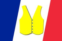 yellow vest  of the French flag