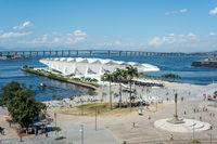 Museum of Tomorrow in Rio de Janeiro, Brazil