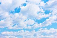 Cloudiness - cumulus clouds