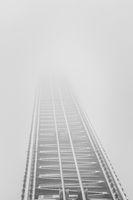 Rails that end in dense fog