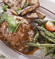 Salisbury Steak Patties With vegetables