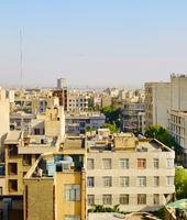 Tehran street architecture, Iran