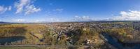 Luftbildaufnahme von Harzgerode