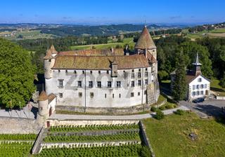 Schloss Oron, Château d'Oron, Oron-le-Châtel, Waadt, Schweiz