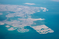 Aerial view of Bahrain