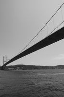 Fatih Sultan Mehmet Bridge over Bosporus