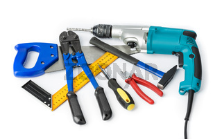 Different construction tools
