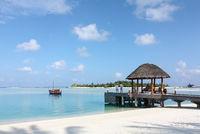 maldives island scenery
