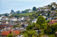 The fishing village of Beer on East Devon's Jurassic Coast. England