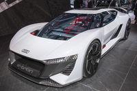 Elektrischer Audi Sportwagen auf der IAA