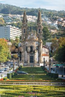 Barocke Kirche in Guimarães