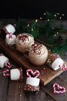 Heisse Schokolade und Marshmallows