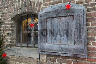 Weihnachtliches Fenster