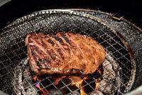 Yakiniku beef grilled