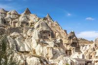 Cave Dwellings Cappadocia Turkey