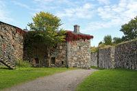 Sea Fortress of Suomenlinna in Autumn