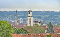 Konstanzer Münster und St. Gebhard im Ortsteil Petershausen