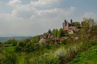 Castle ruin Hanstein, Germany