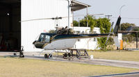 Helicopter maintenance in the open air