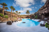 Jameos del Agua, culture and tourism center in lava caves, Lanzarote, Canary Islands