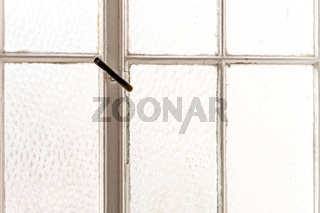 Photo of a white framed window