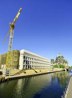 Baustelle Humboldt Forum, ehemaliges Berliner Schloss, Berlin, Deutschland