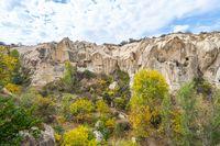 Rock mountain in open air museum in Cappadocia, TurkeyRock mountain in open air museum in Cappadocia, Turkey.