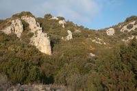 Natural Park of the Mountains and Canyons of Guara. Huesca. Aragon. Spain.