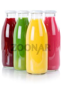 Saft Smoothie Smoothies Flasche Fruchtsaft Hochformat freigestellt Freisteller