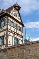 historic building in Bamberg Germany