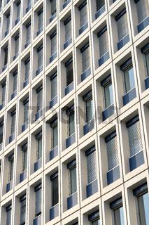 Fassade eines Bürogebäudes in Berlin