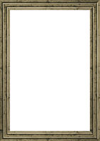 White Frame with Planks Borders