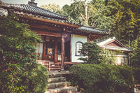 Chion-in temple garden, Kyoto, Japan