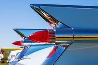 Taillights on a vintage Cadillac