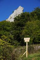 Stuhlfels im Naturpark Obere Donau, Schwäbische Alb
