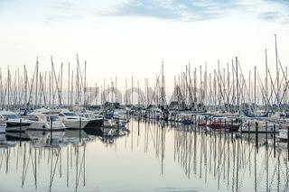 Jachthafen in Heiligenhafen