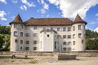 beautiful water castle at Glatt Germany