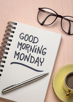 Good Morning Monday note