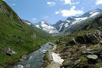 Wanderweg Richtung Rötalm, Tauferer Ahrntal, Südtirol