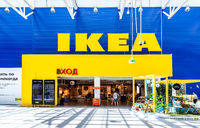 Interior of the IKEA Samara Store