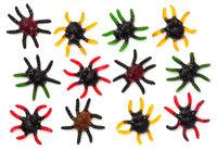 Halloween Spider Gummy Candies Isolated on White Background