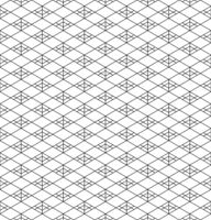 Seamless traditional Japanese geometric ornament .Black and white.