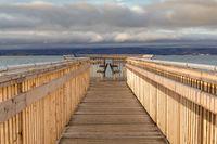 The new boardwalk at Baylands Nature Preserve.