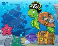 Pirate turtle theme image 5