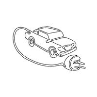 Electric Vehicle Charging Continuous Line