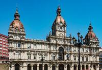 Town Hall of la coruña