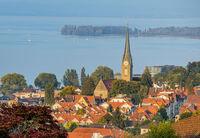 Rorschach mit Herz-Jesu-Kirche,  Kanton St. Gallen