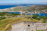 View from Marstrand's fortress over the Swedish west coast archipelago