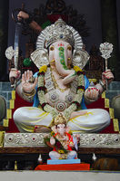 Idol of Lord Ganesha, Pune, Maharashtra, India
